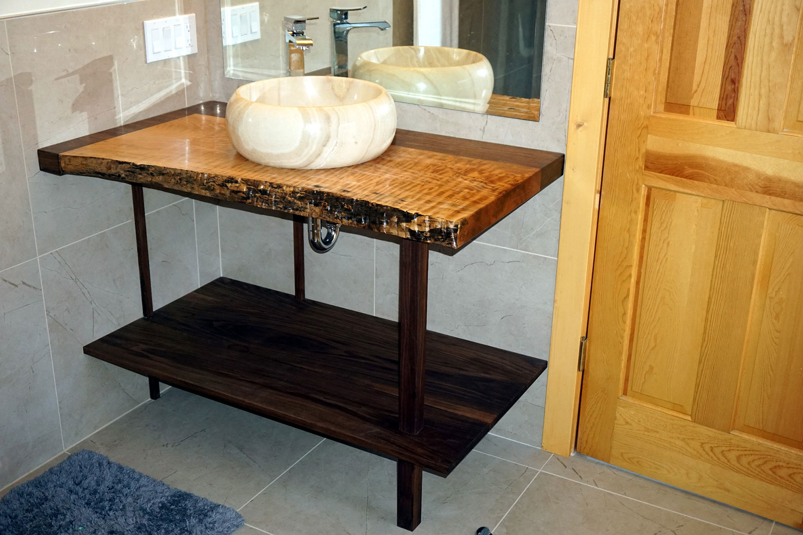 bathroom vanity mapleart custom wood furniture vancouver bc