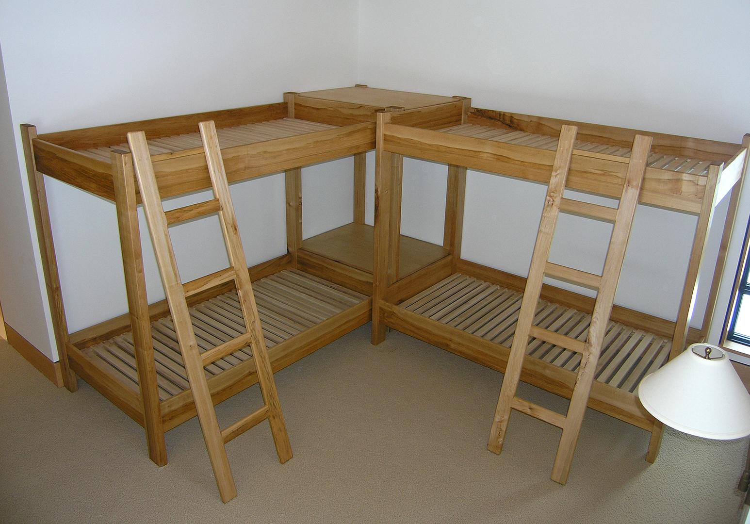 Mapleart Custom Wood Furniture Vancouver Bccrocosmia Aurea Bunk