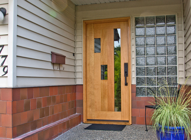 mapleart custom wood furniture vancouver bcelder front door