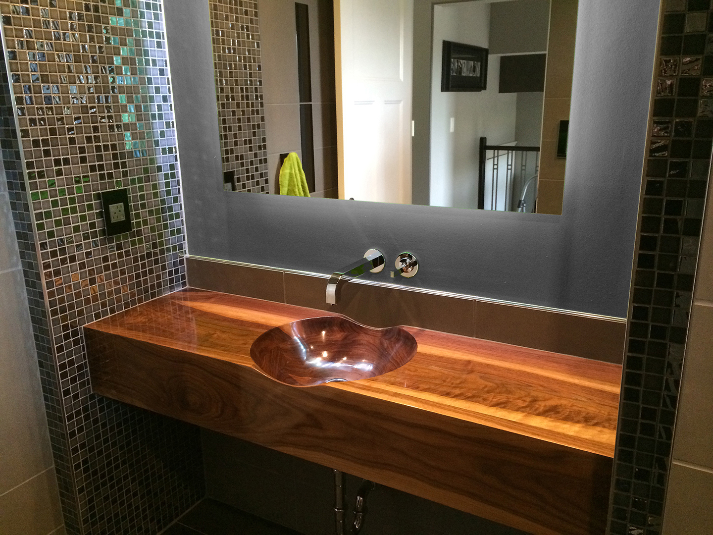 Bathroom Sinks Vancouver Bc mapleart: custom wood furniture, vancouver, bcwalnut bathroom sink