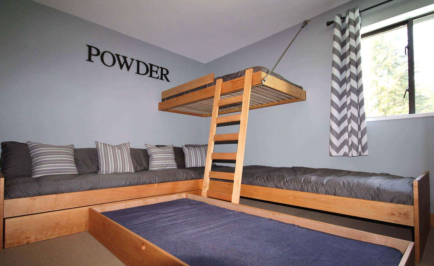 Mapleart Custom Wood Furniture Vancouver Bcenzian Bunk Bed System