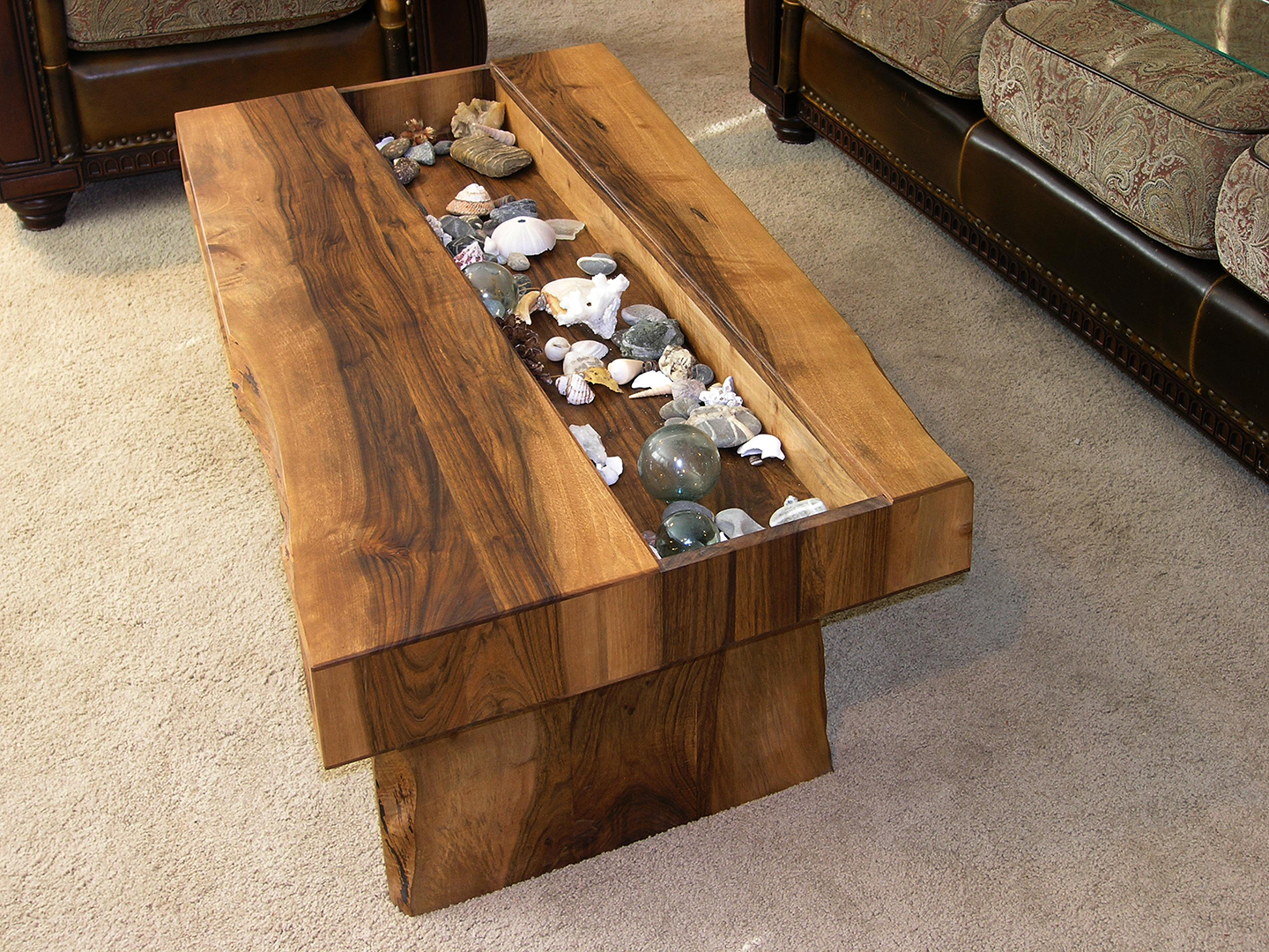 coffee table mapleart custom wood furniture vancouver bc