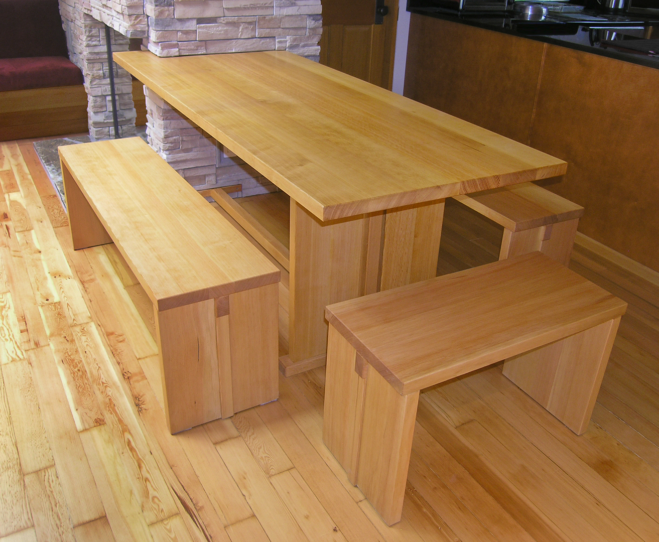 Custom wood furniture vancouve ever x wood for Custom wood furniture