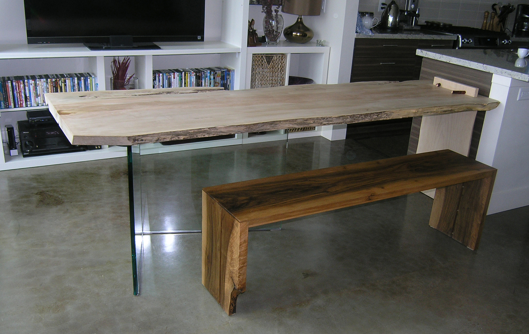 MapleArt Custom Wood Furniture Vancouver BCPaulownia Dining Table