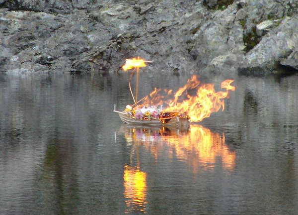 MapleArt: Custom Wood Furniture, Vancouver, BCViking Funeral Boat