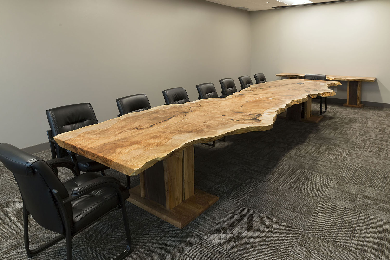 boardroom table mapleart custom wood furniture vancouver bc